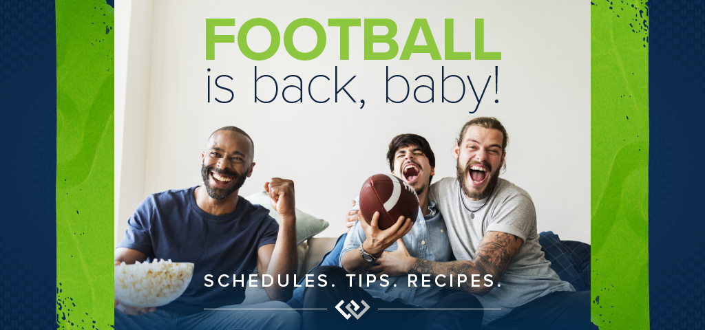 Football is back, baby!